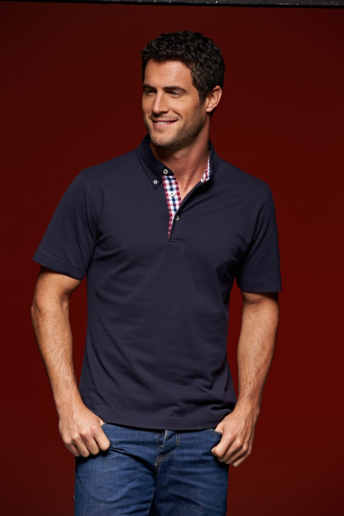 J&N MEN'S PLAIN POLO GALLÉROS PÓLÓ